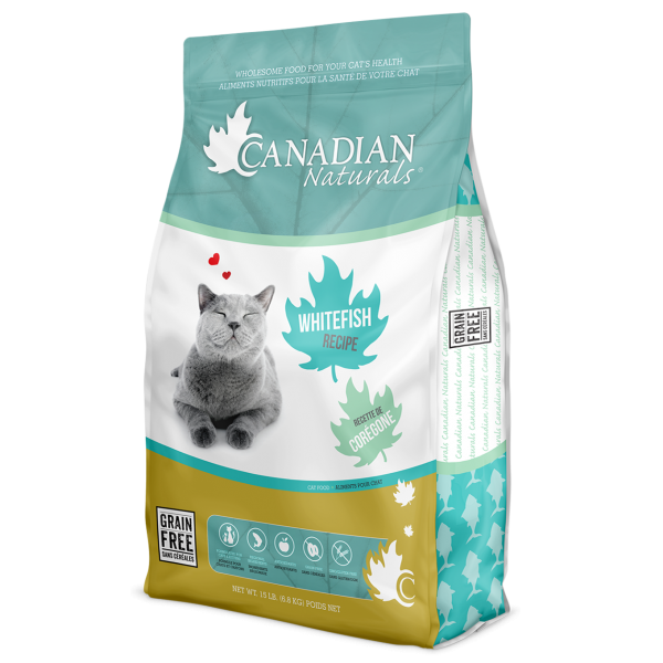 Grain Free Whitefish Cat Recipe