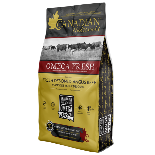 Omega Fresh Deboned Angus Beef Recipe for Dogs