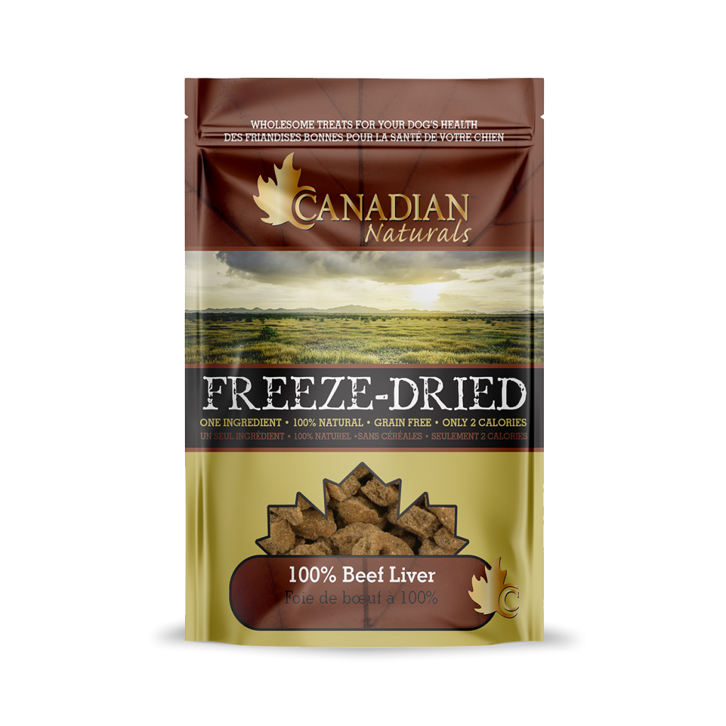 Canadian Naturals Freeze Dried Beef Dog Treats
