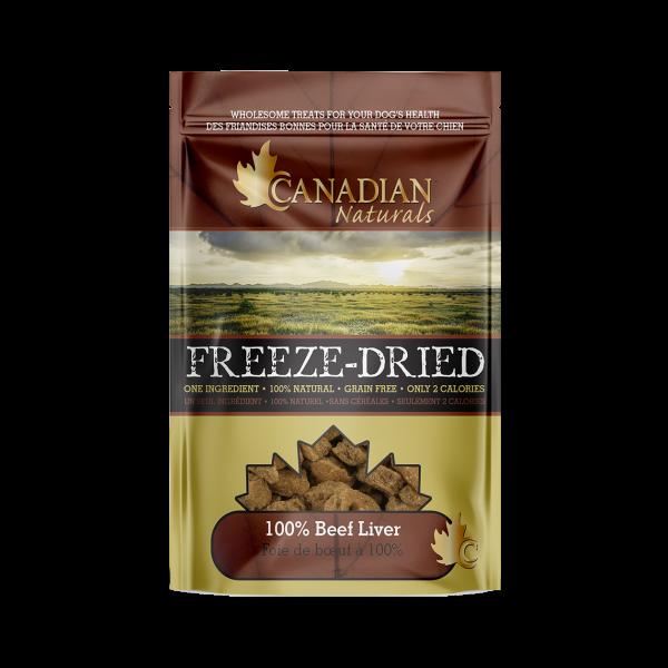 Canadian Naturals Freeze Dried Beef Dog Treats