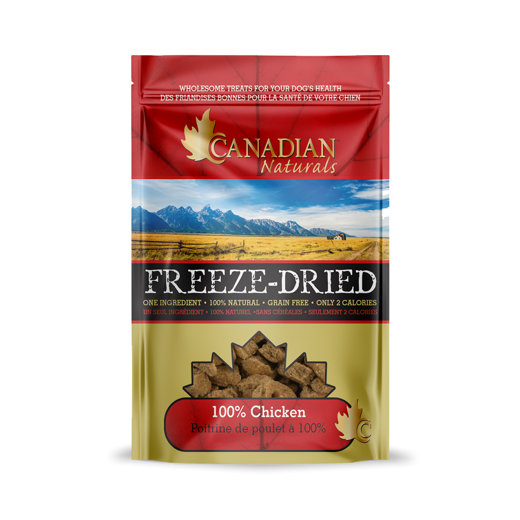 Canadian Naturals Freeze Dried Chicken Dog Treats