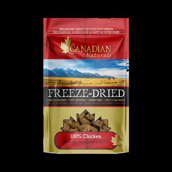 Canadian Naturals Freeze Dried Chicken Dog Treats