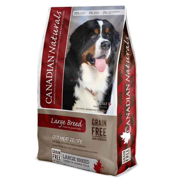 Grain Free Red Meat Recipe for Large Breed Dogs