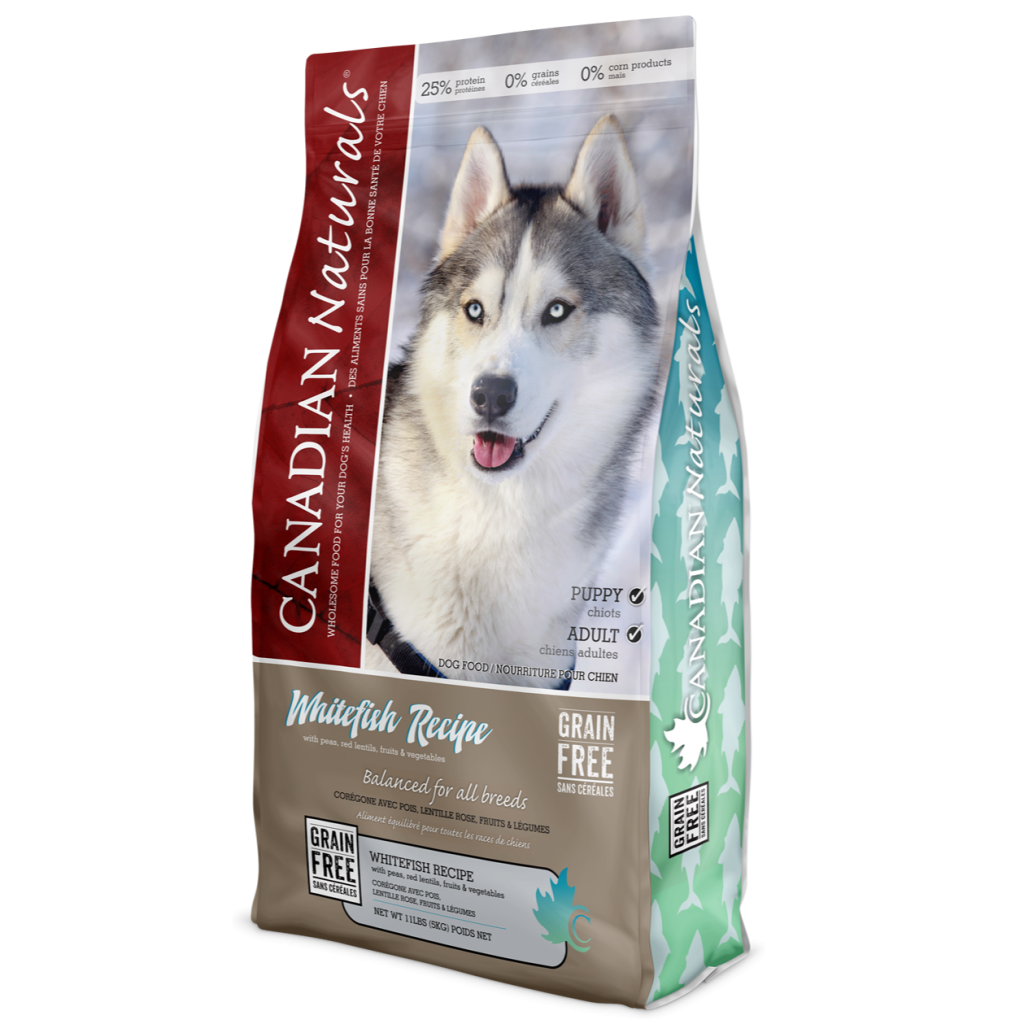 Grain Free Whitefish Recipe for Dogs