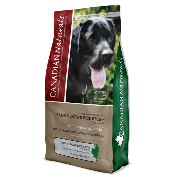 Lamb & Brown Rice Recipe for Dogs