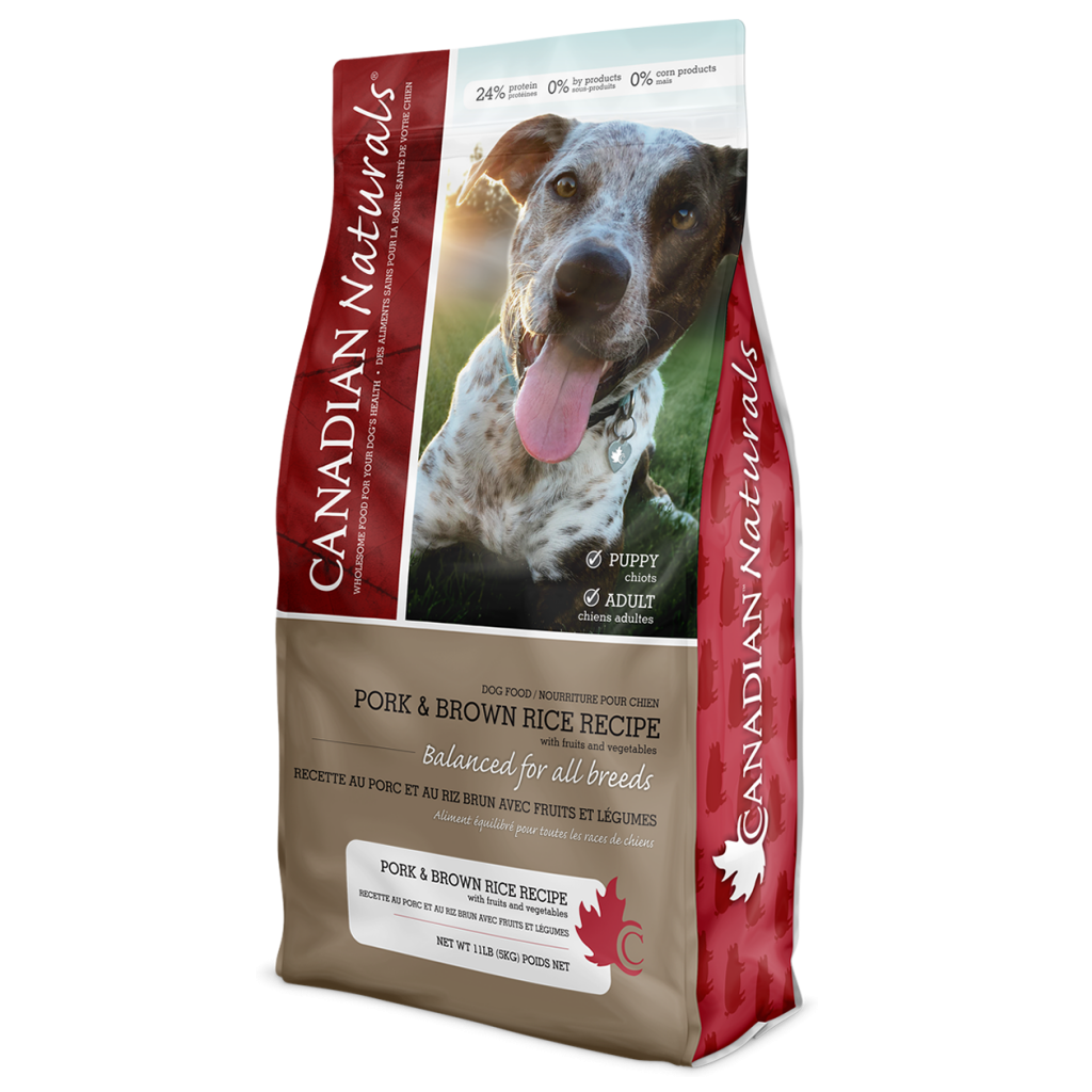 Pork & Brown Rice Recipe for Dogs