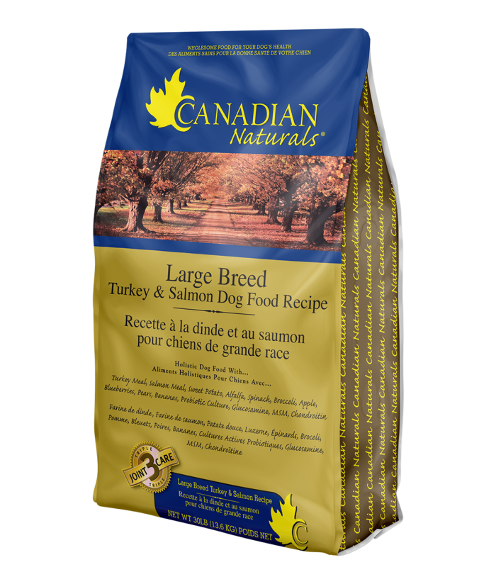 Canadian Naturals Turkey & Salmon Large Breed